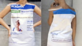 """Rochia """"Facebook"""" si alte proiecte vestimentare ale designerilor romani, prezentate la Londra"""