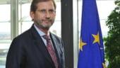Hahn: CE va decide la mijlocul lui decembrie daca se ridica sistarea platilor catre Romania