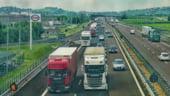 Marea Britanie: Peste o suta de camioane participa la un test privind traficul in cazul iesirii din UE