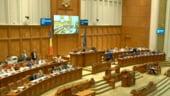 Parlamentul a adoptat Legea pensiilor cu un impact bugetar urias. Olguta Vasilescu sustine ca sunt bani, Ponta o avertizeaza cu Codul Penal