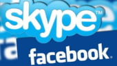Parteneriat: Utilizatorii Skype isi pot suna prietenii de pe Facebook
