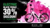 Electric Black Friday pentru clientii Bizze: Cumpara-ti bicicleta electrica la super pret!