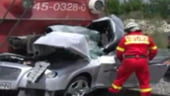 Masina lovita de tren, in Bucuresti: Finul lui Gigi Becali a murit