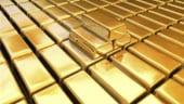 Aurul, la cel mai mic pret din ultimele zece luni