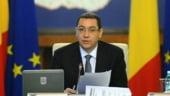 Ponta: Nu incheiem acordul cu FMI inainte de termen si nu crestem deficitul
