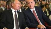 Putin si Erdogan s-au inteles sa treaca gazoductul TurkStream pe sub Marea Neagra