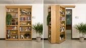Biblioteca plianta, usa secreta catre biroul tau