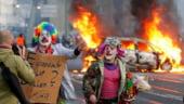 De ce-au atacat sediul BCE din Frankfurt: Austeritatea ucide!