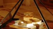 Rezerva de aur si valute a Romaniei a scazut usor la 27,02 miliarde euro