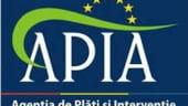 APIA a primit peste un milion de cereri de plata pentru masurile de sprijin pe suprafata