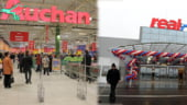 Tranzactia Auchan - Real, la un pas de a fi blocata in Craiova si Targu Mures de Concurenta
