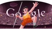 Google promoveaza proba de aruncare a sulitei la JO 2012