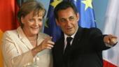 Merkel si Sarkozy discuta despre criza din Europa si violentele din Siria