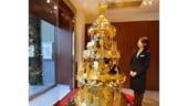 Cel mai scump brad de Craciun, prezentat in Japonia