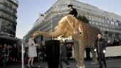 Un elefant la Galeriile Lafayette: Louis Vuitton deschide sezonul sarbatorilor de iarna