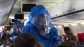 Ebola face din orice zbor o provocare: 9 tipuri de comportament in avion