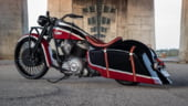Azzkikr Frontier 111, un remake de exceptie al motocicletei Indian Springfield