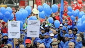 Greva generala in Belgia: Feroviarii in fruntea miscarilor de protest