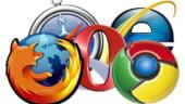 Razboiul browserelor: Lupta stransa intre Chrome si Firefox (Grafic)