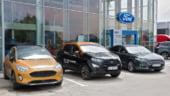 Masini economice expuse si disponibile in cadrul showroom-urilor auto Ford Oradea