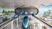 Asa ar putea arata trenurile Hyperloop care vor transporta marfuri cu viteza sunetului prin orasele viitorului