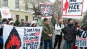 Proteste, la Universitate, fata de exploatarea gazelor de sist