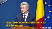 Ryanair il ironizeaza pe ministrul Iordache intr-o reclama postata pe Facebook (Foto)