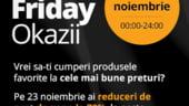 Black Friday 2012: Okazii.ro, reduceri de pana la 70%