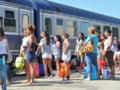 """Primul tren """"estival"""" a facut Bucuresti-Constanta intr-o ora si 55 de minute"""