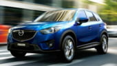 Mazda promoveaza noul SUV CX-5 pe Transfagarasan