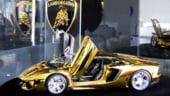 Cel mai scump Lamborghini din lume - din aur, platina si diamante, se vinde in Emiratele Arabe
