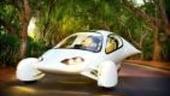Automobilul electric pe trei roti