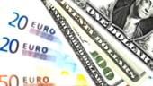 Euro, la cel mai mic nivel fata de dolar din 2011