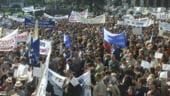 Sindicalistii mentin programul de proteste si se intalnesc si marti cu reprezentantii guvernului