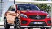 Mercedes GLE Coupe, invazie in teritoriul BMW X6