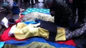 Bilant macabru in Ucraina: Cel putin 35 de morti doar joi dimineata