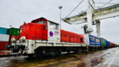 Caravane moderne pe Drumul Matasii: Un tren a facut mai putin de 3 saptamani din China pana in Franta