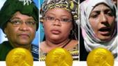Trei femei primesc sambata Premiul Nobel pentru Pace