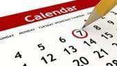 Zile libere 2014. Cate dintre sarbatorile legale prevazute de Codul Muncii sunt in timpul saptamanii