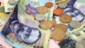 Salariul mediu net a crescut cu 0,3% in februarie