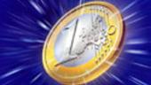Euro atinge un maxim al ultimelor sapte saptamani fata de dolar