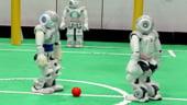 A inceput Cupa Mondiala la fotbal pentru ... roboti