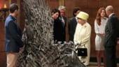 Regina Marii Britanii a vizitat platourile de filmare ale serialului Game of Thrones