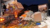 Fermierii francezi 'ataca' preturile mici cu zeci de mii oua