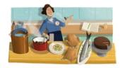 Google o omagiaza pe Julia Child, maestru bucatar american si vedeta TV