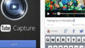 YouTube a lansat o aplicatie cu care se pot inregistra si distribui clipuri