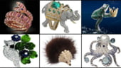 Cele mai scumpe bijuterii cu modele excentrice