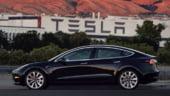 Primele imagini cu Model 3, cel mai recent automobil electric de la Tesla