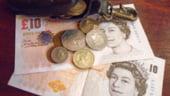 Curs valutar: Cel mai mic nivel din ianuarie pentru euro si lira sterlina