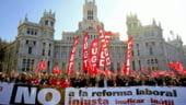 Spania refuza noi masuri de austeritate, pe fondul protestelor masive